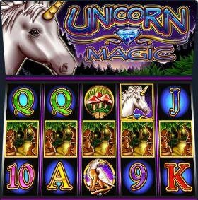 Игровой аппарат Unicorn Magic резаться бесплатно