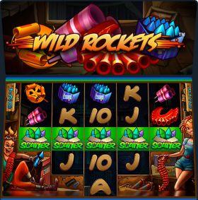 Игровой робот Wild Rockets дуться бесплатно
