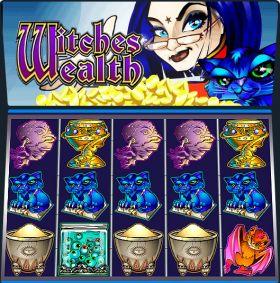 Игровой механизм Witches Wealth представлять бесплатно