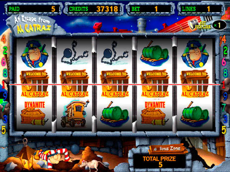 Игровой автомат Alcatraz (Алькатрас)