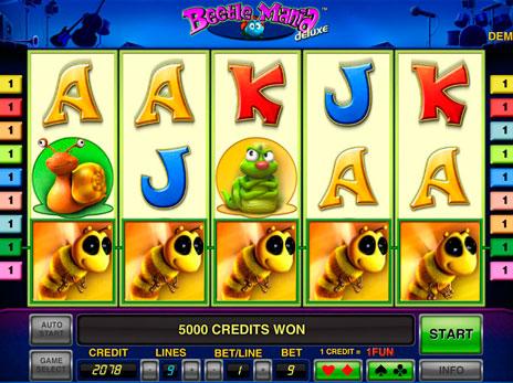 Игровой автомат Beetle Mania Deluxe от Novomatic — Играйте онлайн бесплатно