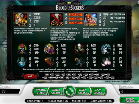 Игровые автоматы онлайн бесплатно вампиры казино в кам полянах