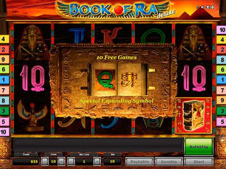 Игровой автомат Book Of Ra (Книжки, Бук оф Ра) - e