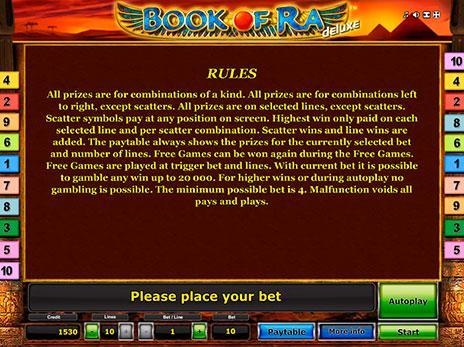 Играть онлайн book of ra deluxe