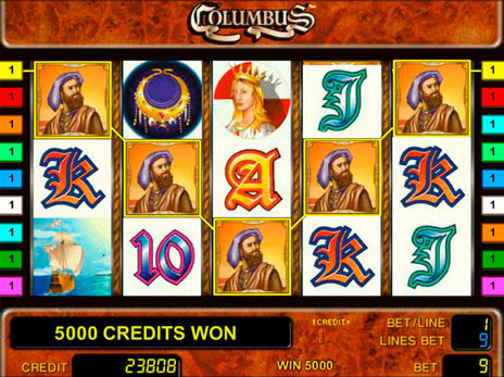 Играть в игровые автоматы колумбус как заработать на партнёрках казино