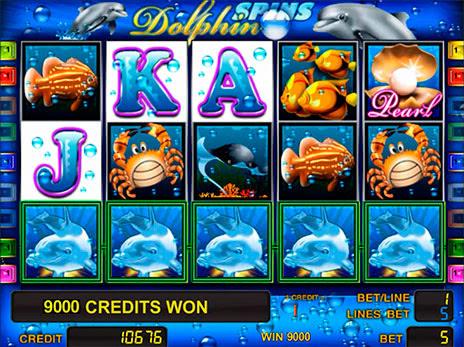 дельфин игровые автоматы
