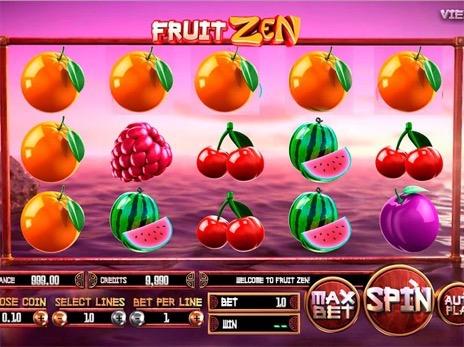 Игра фрукты автоматы