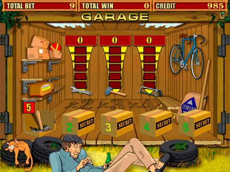 Играть в игровые автоматы в гараж игровые автоматы для андроида бесплатно онлайн