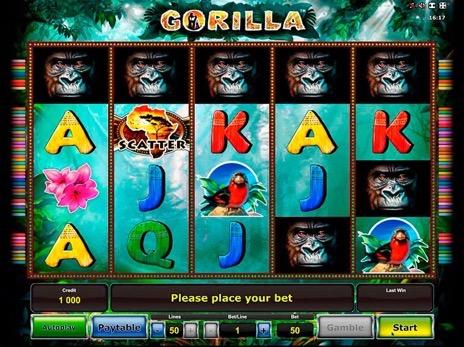 Игровые автоматы горилла игровые автоматы играть без денег без регистрации