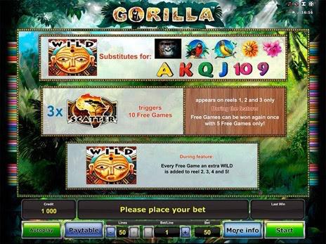 Бесплатный игровой автомат