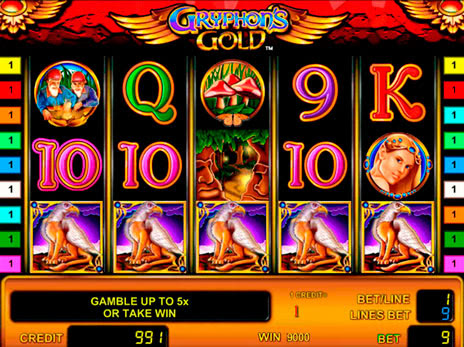 Игровые автоматы золото грифона новая игровые аппараты 12 игр