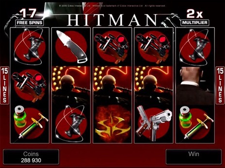 игровой автомат hitman