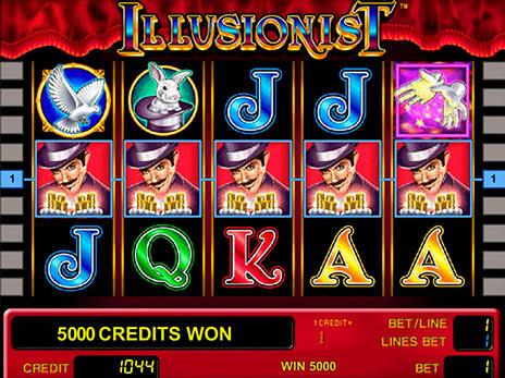 Иллюзионист игровые автоматы слотосфера игровые автоматы казино