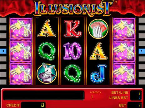 иллюзионист автомат играть бесплатно