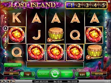 игровые автоматы lost island