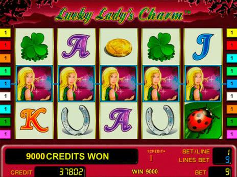 Игровой автомат Леди Шарм (Lucky Ladys Charm