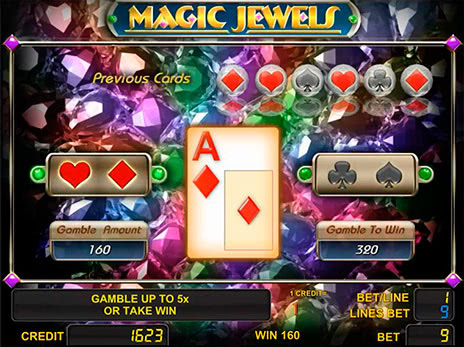 Онлайн слоты Magic Jewels риск игра