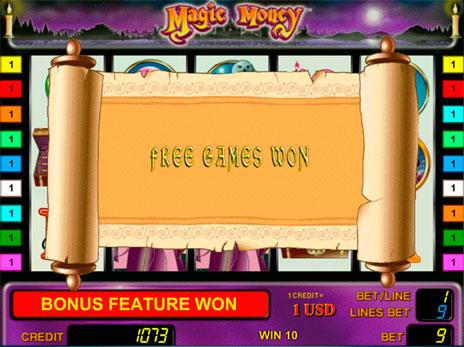 Бесплатные игровые автоматы магия денег игровой автомат на гугл плей