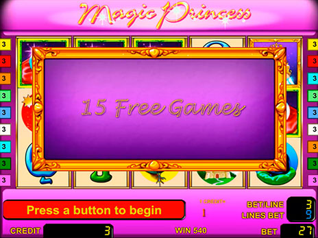 Онлайн автоматы Magic Princess 15 бесплатных игр
