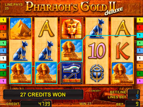 золото фараона 2 слота