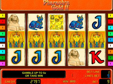 Игровой Автомат Treasures Pharaon`S