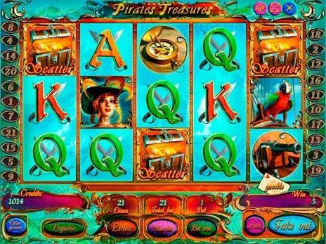 Pirate treasures deluxe огляд автомата