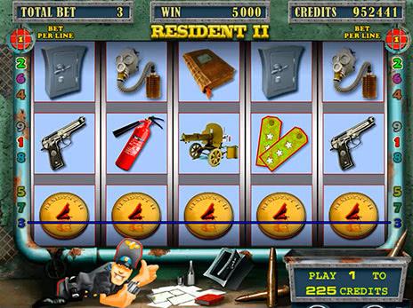 Игровые автоматы resident 2 промокод в казино клуб вулкан