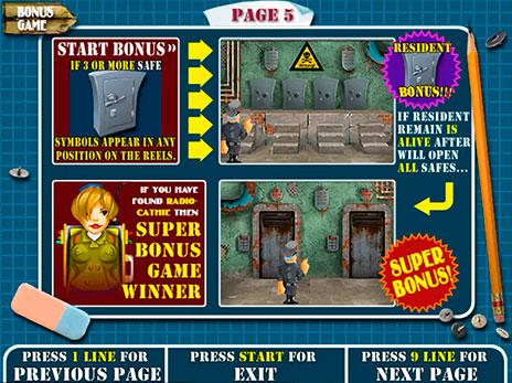 Игровой автомат Resident (Резидент, Сейфы) играть