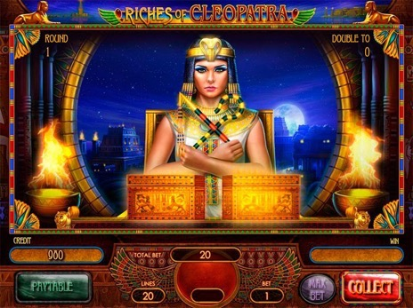Слот аппараты Riches of Cleopatra риск игра