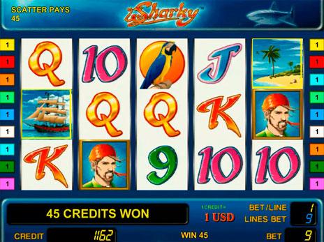 Игровые автоматы sharky онлайн бесплатно игра можно ли выиграть в игровые автоматы онлайнi