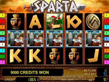 Игровой Автомат Sparta / Novomatic