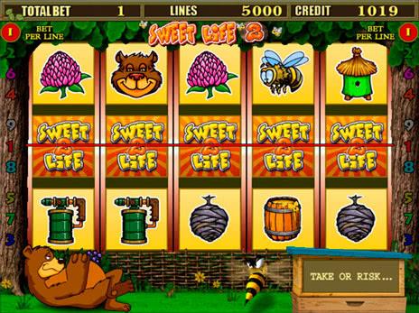 Играть бесплатно в игровые автоматы онлайн Sweet Life