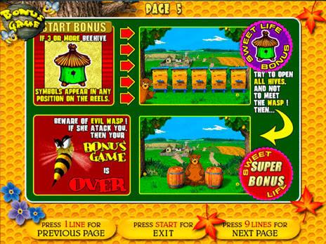 Играть игровые автоматы медведь и пчела