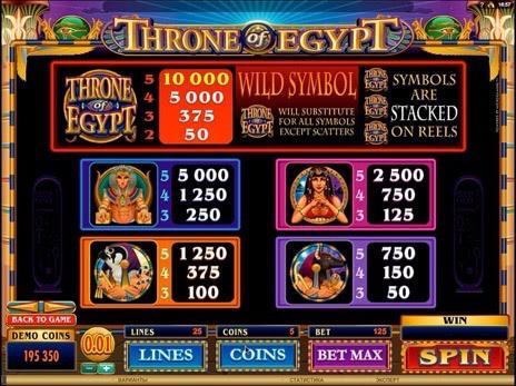 Игровые автоматы египет прохождения онлайн схема игры в казино в самп рп