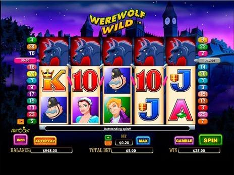 Игровой автомат Werewolf Wild — Играйте в слот Werewolf Wild от Aristocrat