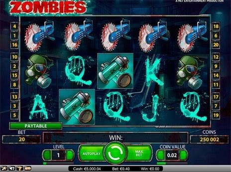 Игровой автомат Zombies (Зомби)