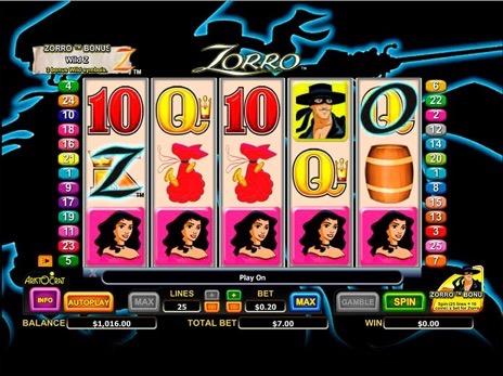 Онлайн-слот Zorro — Играйте в игровой автомат Zorro бесплатно