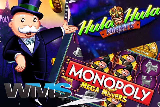 Hula Hula Nights и Monopoly Mega Movers от разработчика WMS