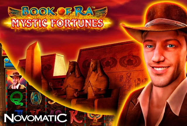 Слот Book of Ra Mystic Fortunes от Novomatic