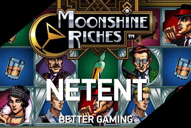 Слот Moonshine Riches от NetEnt