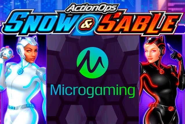 ActionOps Snow & Sable от разработчика Microgaming