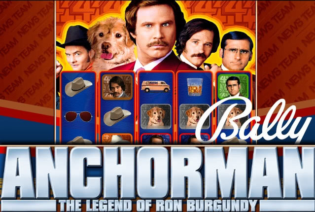 Bally представляет слот Anchorman The Legend of Ron Burgundy