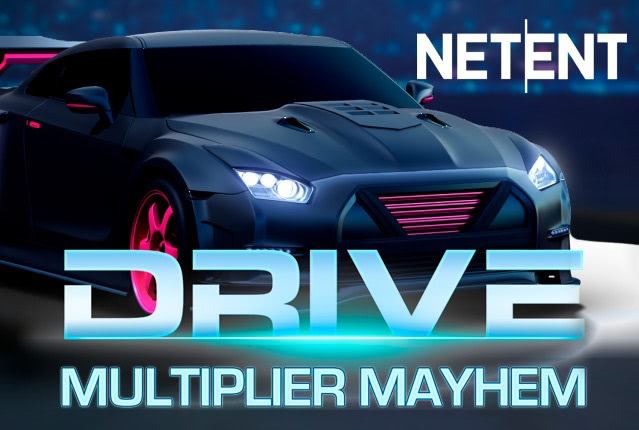 NetEnt выпустил Drive Multiplier Mayhem