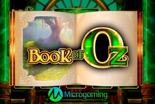 Слот Book of Oz от Microgaming